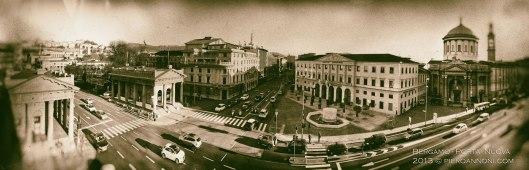 Porta Nuova - Bergamo panorama