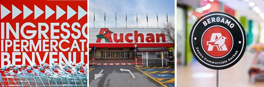 Auchan Bergamo details