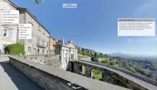 Le Mura di Bergamo interrative
