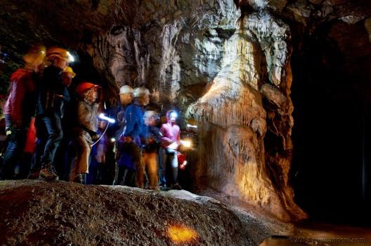 Deposito calcareo - Grotte del Funtanì