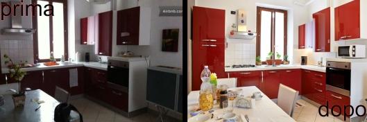 Prima e dopo nella fotografi d'interni