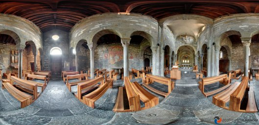 Abbazia Sant'Egidio, panorami e virtual tour - Sotto il Monte