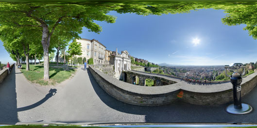 Le Mura di Bergamo - Virtual Tour along the ancient city walls