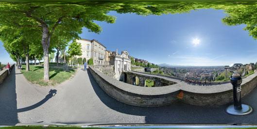 Le Mura di Bergamo - Virtual Tour along the ancient city walls