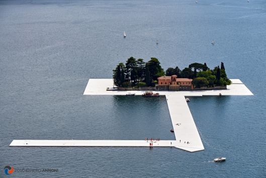 Floating Piers By Kristo - Montisola, Iseo Lake - Italy