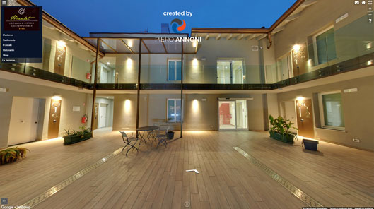 Locanda Marelet - Tour virtuale Google by Piero Annoni