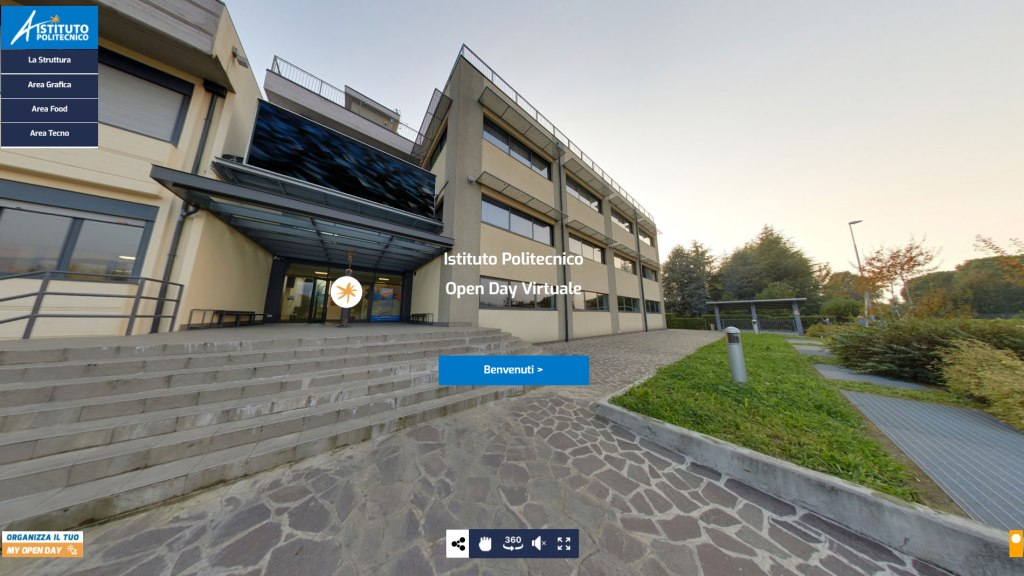 Tour virtuali interattivi per le scuole
